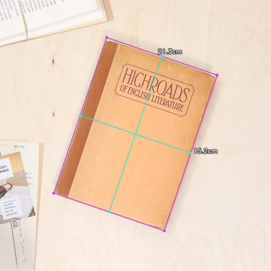 Highroads notebook dimensions