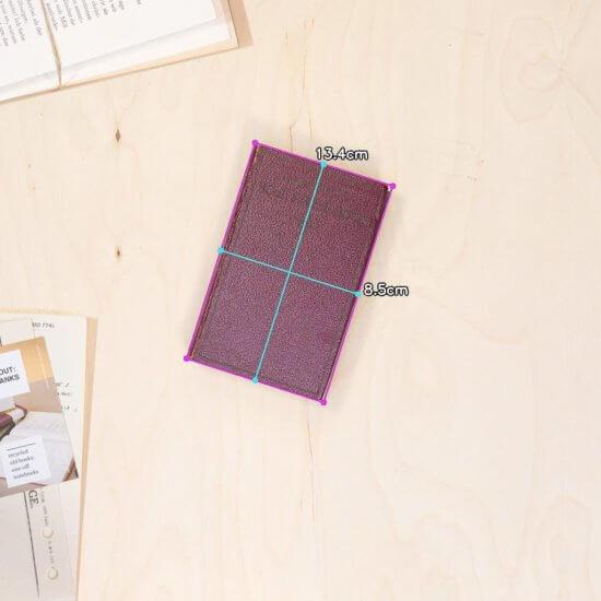 home recipe notebook dimensions