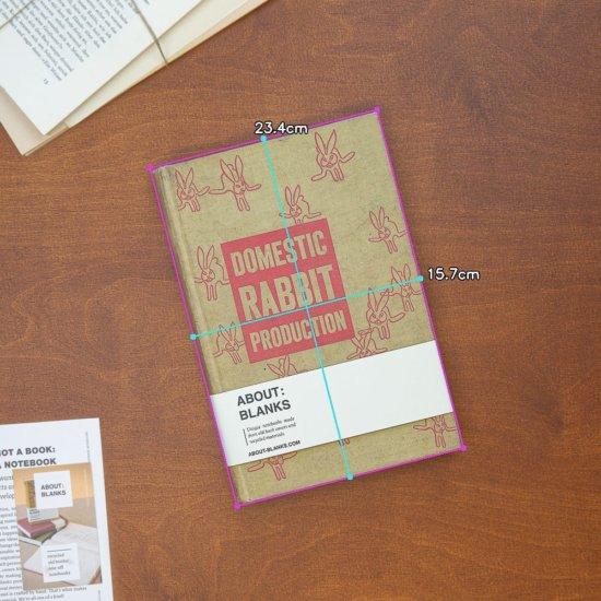 Rabbit notebook large