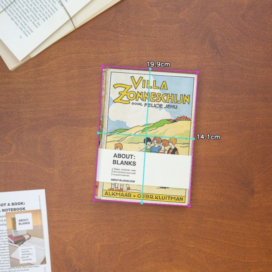 villa zonnebloem notebook