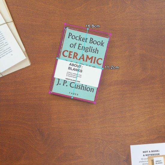Ceramic notebook dimensions