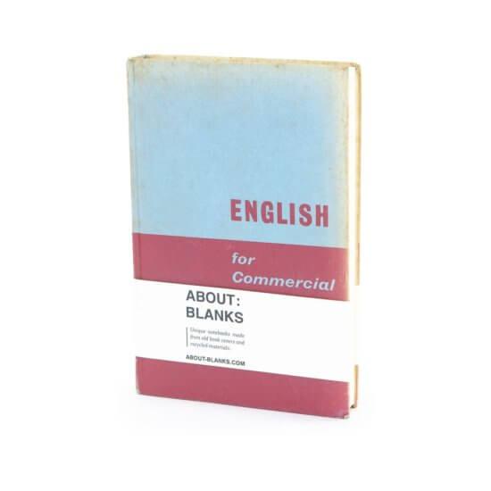 English notebook